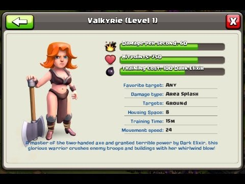 Clash of Clans - BUYING NEW DARK TROOPS YEA!!!