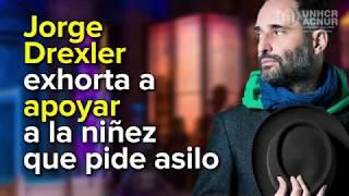Jorge Drexler exhorta a apoyar a la #NiñezQueHuye