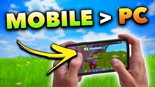Top 10 Reasons Why Fortnite is BETTER on Mobile!!