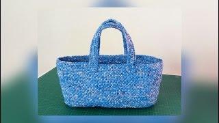 making plarn bags pattern 2