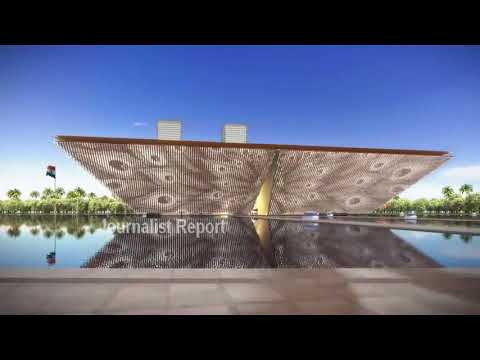 Proposed Screen Facade Option for Legislature Design in Amaravati