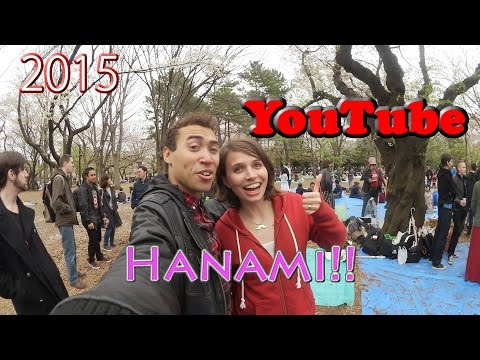 Official 2015 YouTube Hanami party in Tokyo!