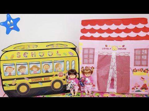 Ani y Ona se DIVIERTEN en el cole de juguete Happy School de Nenuco Juguetes Infantiles