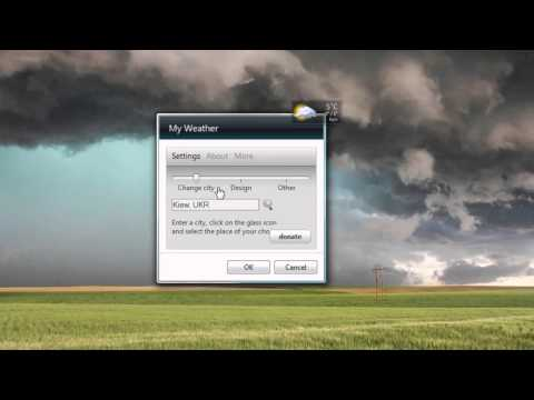 weather underground gadget windows 7
