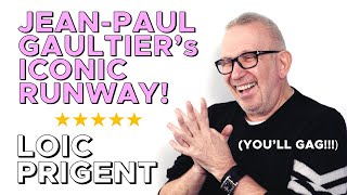 JEAN PAUL GAULTIER RECOUNTS HIS MYTHICAL 1986 FASHION SHOW! By Loic Prigent