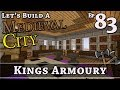 How To Build A Medieval City :: E83 :: Kings Armoury :: Minecraft :: Z One N Only