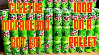Cleetus McFarland Has 1000+ Mountain Dew