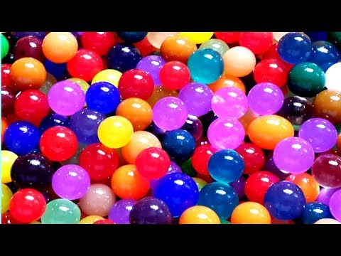 What to do with Orbeez or Water Beads. Easy crafts to make in less than 3 minutes