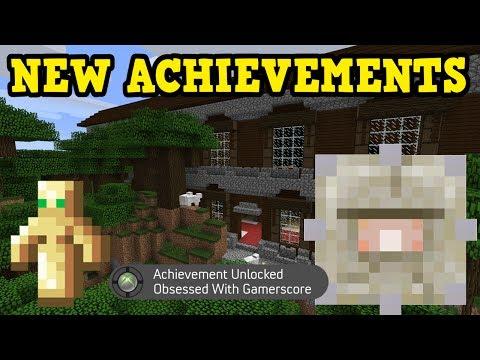 Minecraft Xbox TU54 Survival: ALL NEW ACHIEVEMENTS