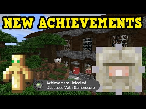 Minecraft Xbox Tu54 Survival All New Achievements