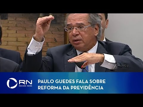 Paulo Guedes fala