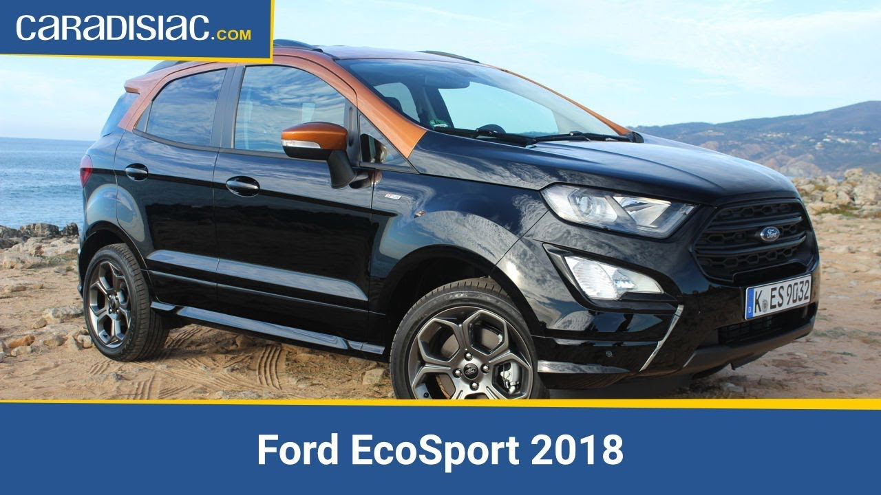 ford ecosport 2018 restylage int gral youtube. Black Bedroom Furniture Sets. Home Design Ideas