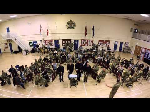 The Band of the Royal Regiment of Fusiliers - 'High on a Hill'