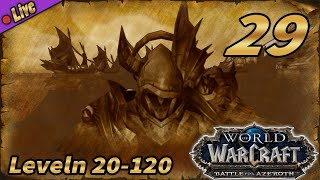 🔴WoW: Battle for Azeroth: Zandalari Troll 20-120 »Deutsch«