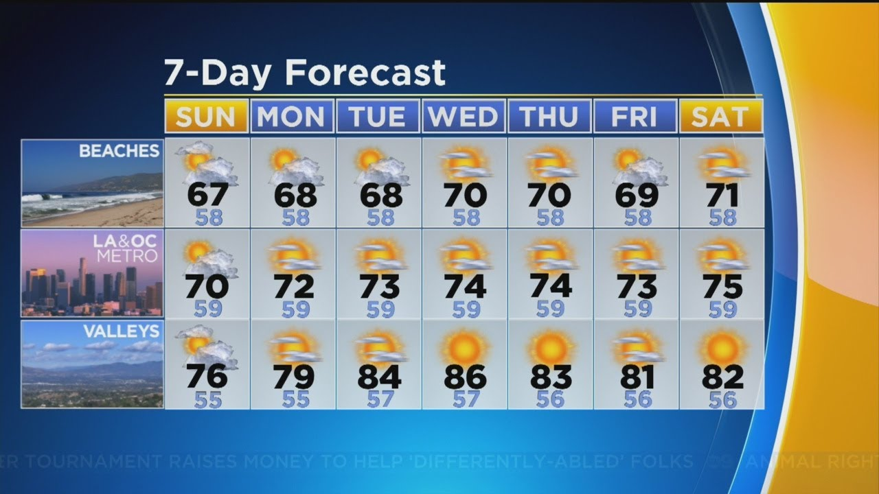 Markina Brown's Weather Forecast (June 2)