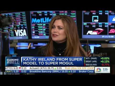 Kathy Ireland   Closing Bell 2017