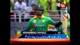 "5 Sixes And 5 Fours, Muhammad Hafeez ""The Professor"" Scored 76 Runs"