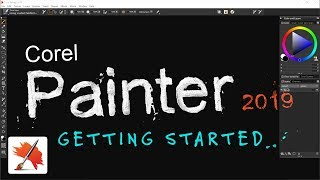How to Use Corel Painter 2019 (Getting Started)