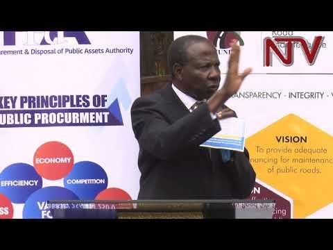 Uganda reviewing its public procurement laws-  Finance Minister