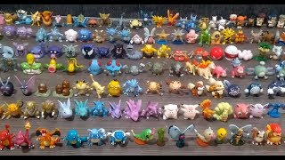 Coleção Miniaturas Pokémon primeira geração 151 iniciais …