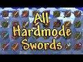 Hardmode Swords in Nutshell (Terraria Weapons)