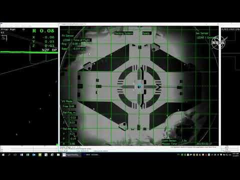 NASA показало стыковку космического корабля Crew Dragon с МКС