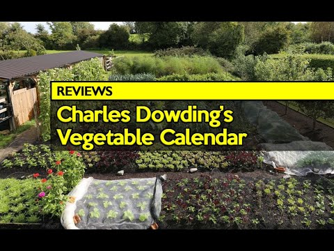 Review: Charles Dowding's Vegetable Garden 2018 Calendar