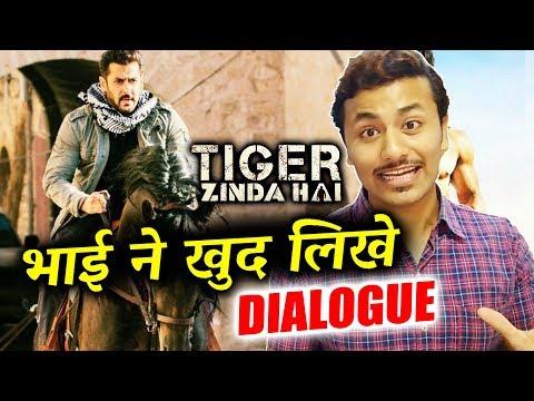 Salman Khan WRITTEN Tiger Zinda Hai DIALOGUE - Unknown Fact