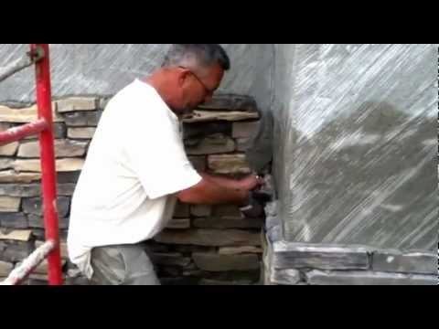 Faux Stone Custom Dry Stacked