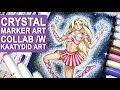 CRYSTAL ⭐ Superheroine Design⭐ Art Collab w/ Kaatydid Art