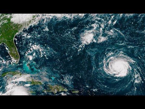 Hurricane Florence's path tracks towards Carolinas as evacuations begin