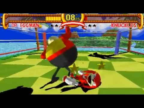 Sonic The Fighters (Model 2) Hack Showcase