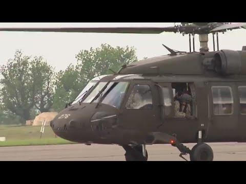 Indiana National Guard Conduct Training at Camp Atterbury