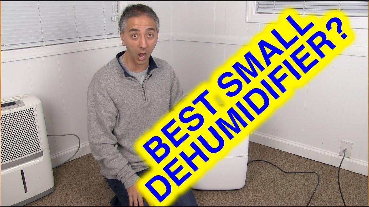 Best SMALL Dehumidifier - Hisense Dehumidifier Review - YouTube