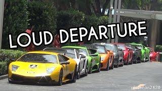 Lamborghini Owners Club Malaysia @ St Regis Hotel - Departure