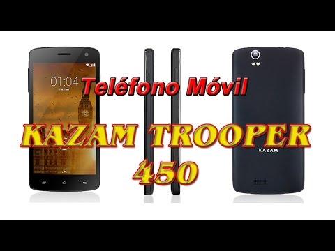 Teléfono Móvil Kazam Trooper 450 Youtube