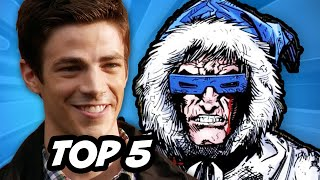 The Flash Episode 10 - TOP 5 Comic Book Easter Eggs