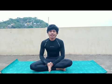 Ardha Matsyendrasana In Telugu Steps Benefits Half Spin Twist Yoga For Beginners Youtube