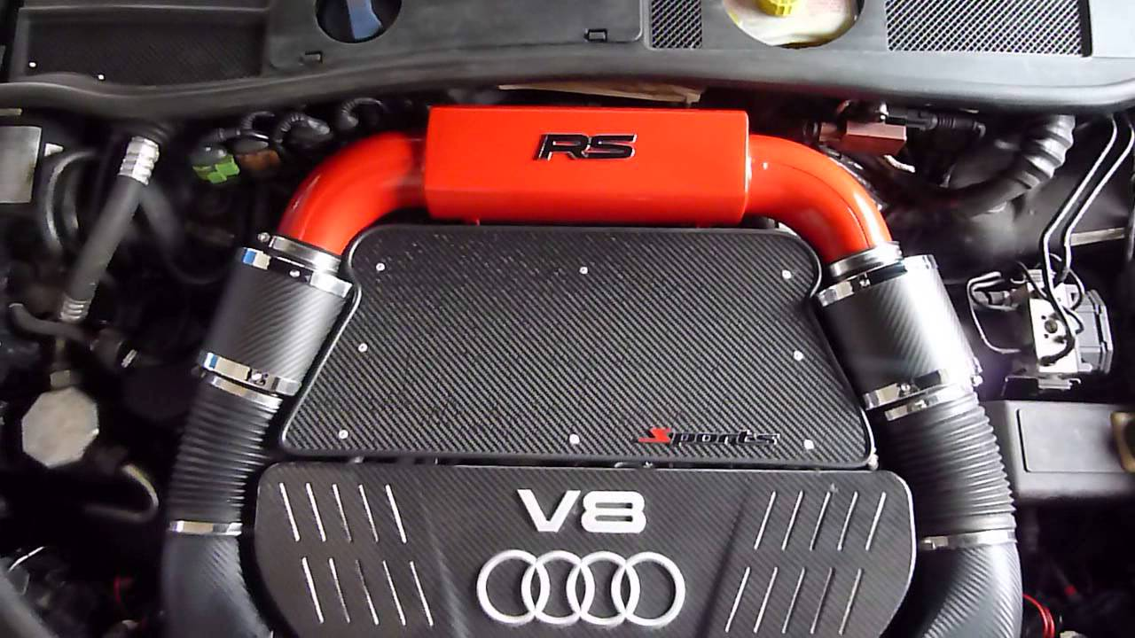audi rs6 4b 5c air intake youtube. Black Bedroom Furniture Sets. Home Design Ideas