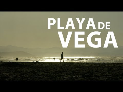 Video about The beach of Vega
