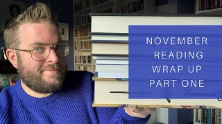 November Reading Wrap Up | Part One | 2019
