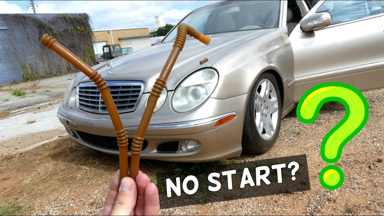 2000 mercedes e320 fuel filter mercedes w211 no start no fuel pressure fuel pump problems youtube  mercedes w211 no start no fuel pressure