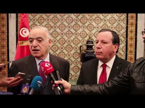 وزير الشؤون الخارجية يبحث مع غسّان سلامة مستجدات الأوضاع في ليبيا