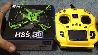 Eachine H8S 3D how to bind Jumper T8SG Plus