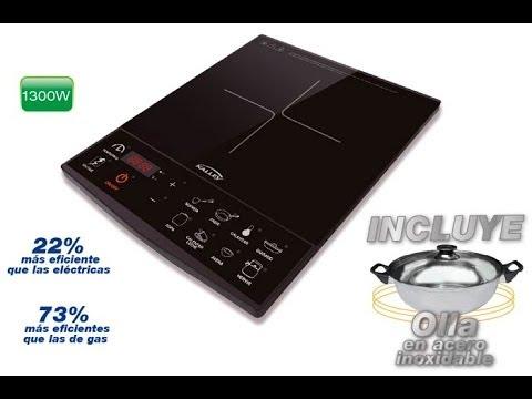 Cocina de inducci n vs cocina a gas youtube for Cocinas mixtas a gas y electricas
