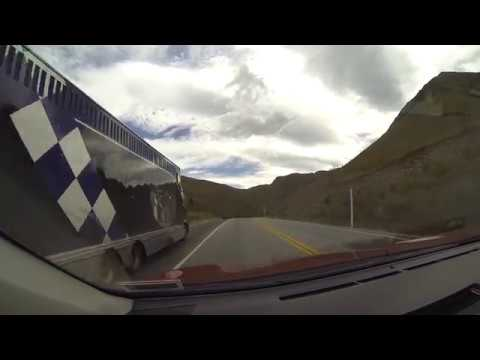 Drive from Queenstown to Omarama airport Part 4 (final part)