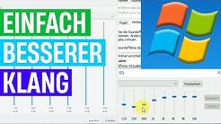 Headset und Kopfhörer Klang in Windows verbessern/anpassen - Windows 10 Equalizer (Teil 1)