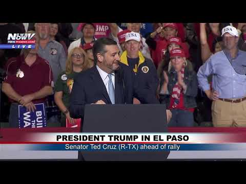 CRUZ AT EL PASO MAGA RALLY: Sen. Ted Cruz (R-TX) Speaks Ahead of President Trump (FNN)