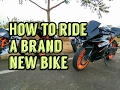 How To Ride A Brand New Motorcycle ( Break in / Run in )