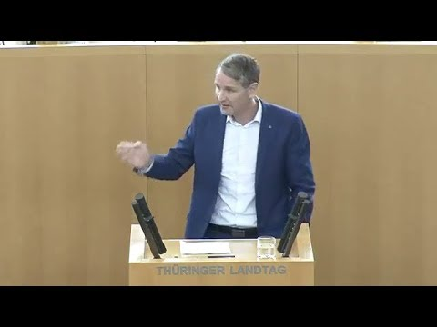"""Knallharte Antwort von Björn Höcke, AfD auf die """"Regierungserklärung"""" von Ramelow, LINKE. 12.12.2019"""